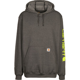 Carhartt Midweight Sleeve Logo Pull à capuche Homme, carbon hthr